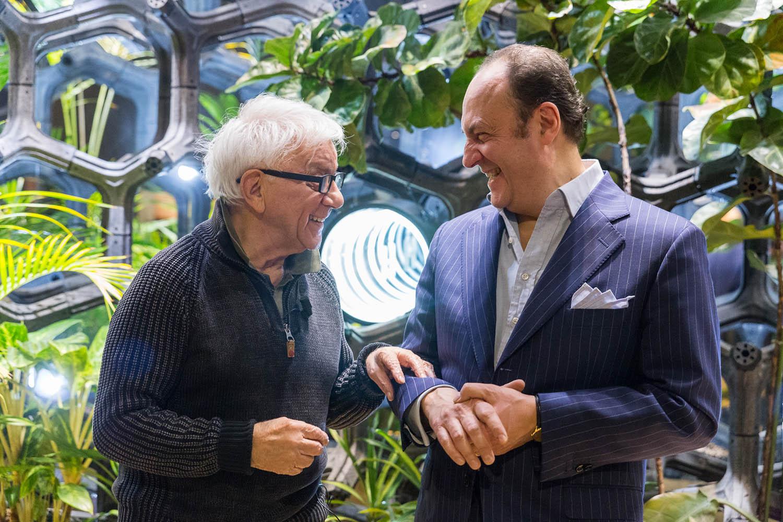 Roberto Sabatino e Don Mazzi
