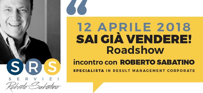 """12 aprile 2018, Roadshow """"Sai già vendere"""" ad Alba"""