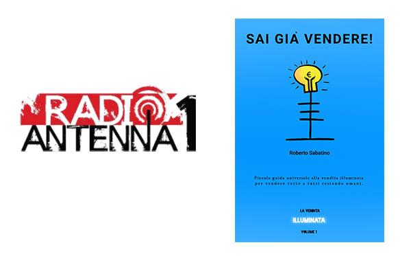 Ascolta l'intervista di Roberto Sabatino su radio Antenna 1