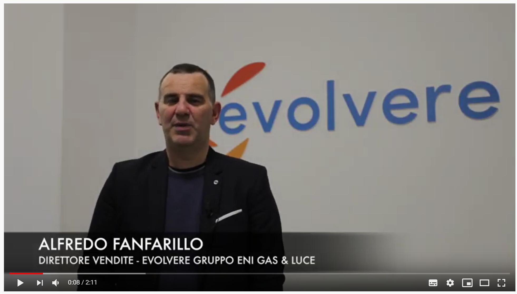 Video-testimonianza di Alfredo Fanfarillo (Evolvere Gruppo Eni Gas & Luce)
